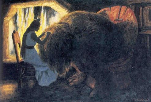 Theodor Kittelsen (1857-1914), illustrator of trolls...