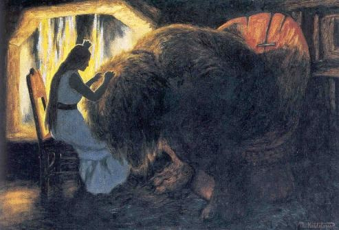 Theodor Kittelsen (1857-1914), illustrator of trolls...