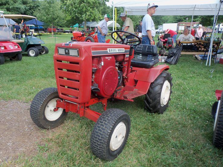 Mini Wheel Horse Tractor : Wheel horse raider farm equipment pinterest