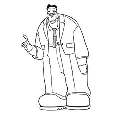 Hotel Transylvania Coloring Pages - Frankenstein