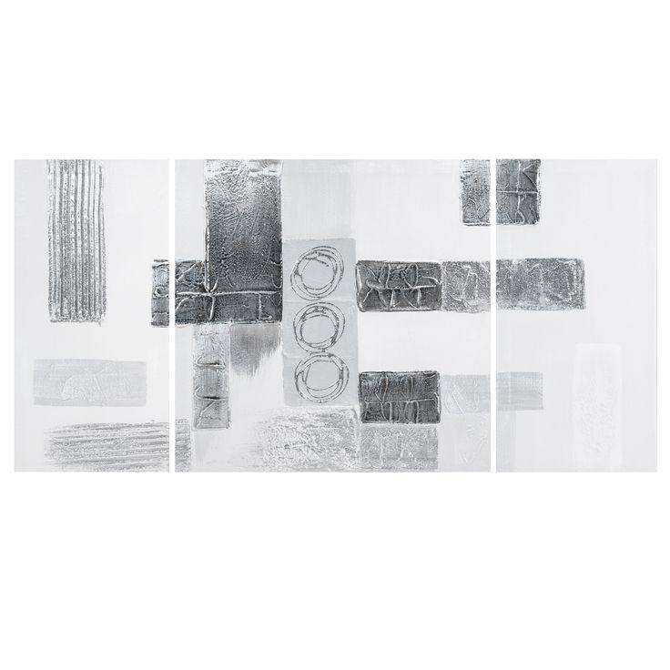 Maison du monde Triptyque argent 50 x 100 cm Contemporary 49,99 €