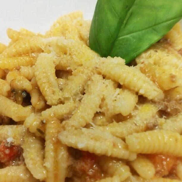 #gnocchettisardi con #ragù di #vitellina  #hallbar #milano #sarpi #instafood