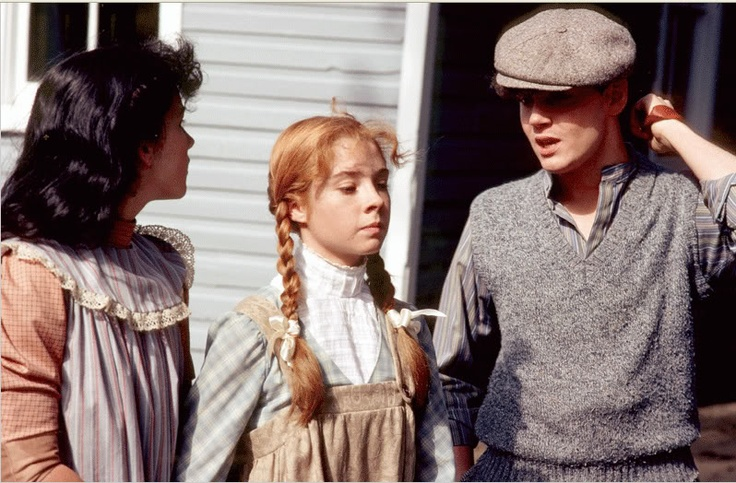 """Don't stay mad, for keeps "".- Gilbert Blythe to Anne Shirley....after he wounded her spirit by calling her ""Carrots""."