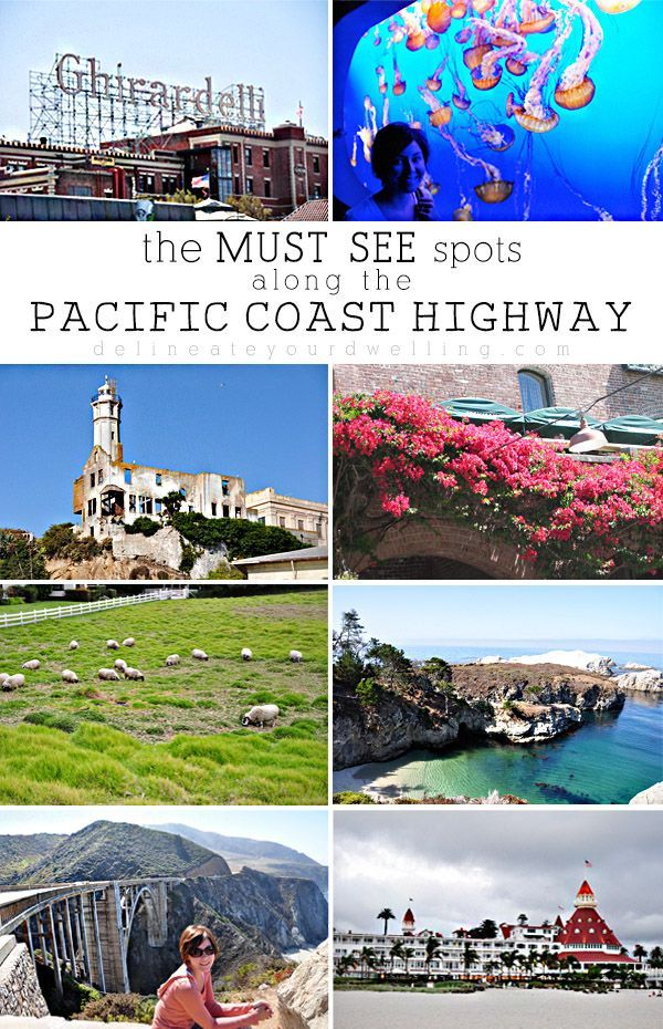 Best 25 pacific coast highway ideas on pinterest for California beach vacation spots