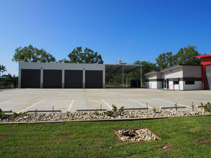 Fire Station Concrete Hardstand - Mareeba