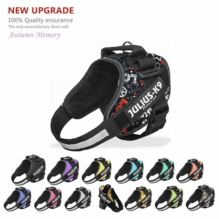 New Upgrade Best Quality Dog Julius k9 Harness Vest POLICE K9 Glow Dog Collar Arneses Perros Honden Harnas Harnais Chien