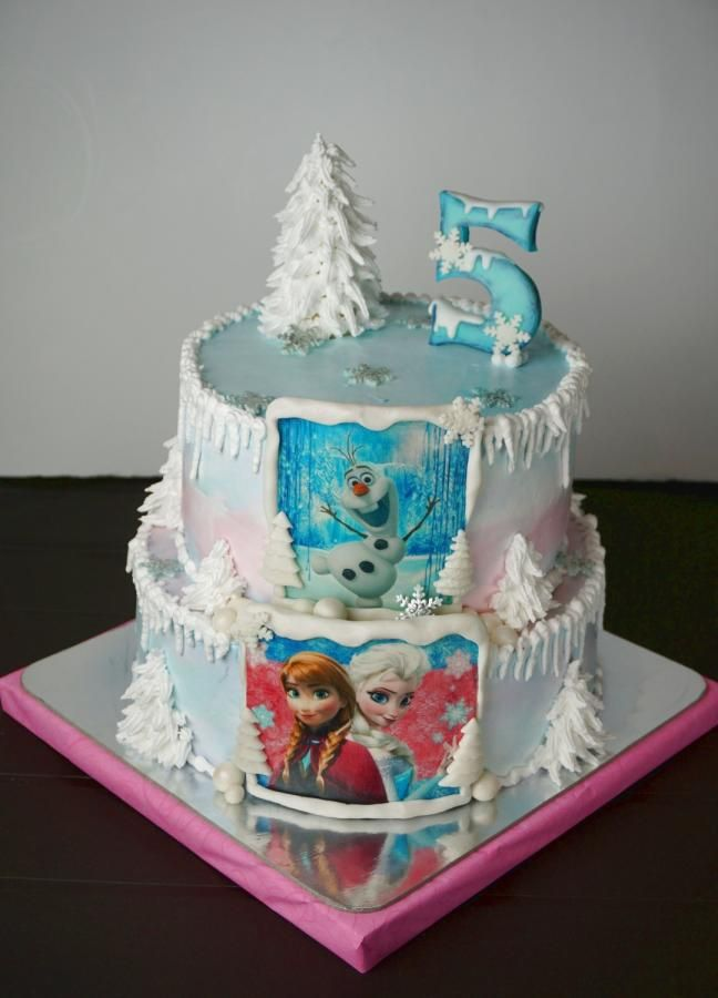 Frozen Cake By Dragana With Images Cake Frozen Cake Kids Cake
