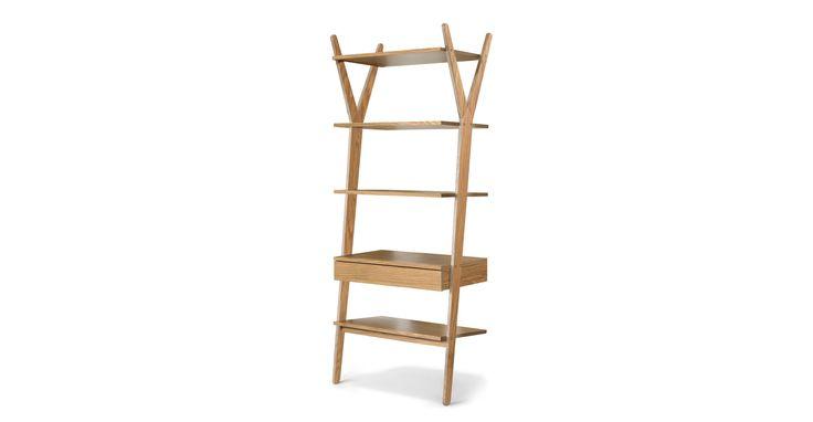 Lignum Oak Shelving Unit - Shelves - Article   Modern, Mid-Century and Scandinavian Furniture