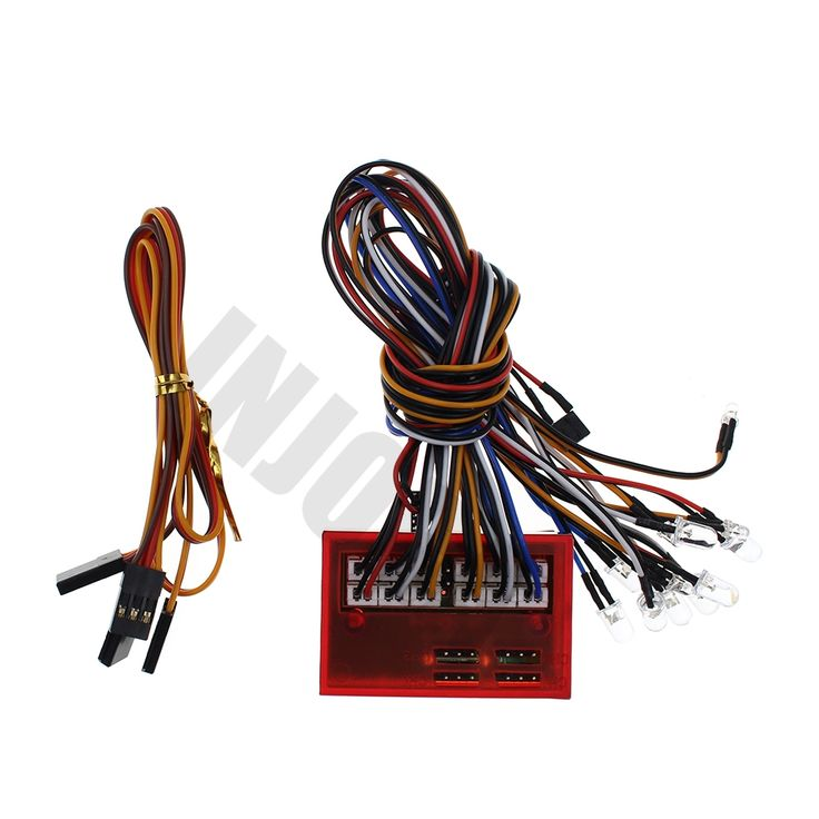 11.99$  Watch now - http://aliwqn.shopchina.info/1/go.php?t=32810716049 - Smart 12 LED Flashing Lights Control System Group for RC Model Car Tamiya HSP Kyosho HPI Support PPM/FM/FS 2.4G System  #SHOPPING
