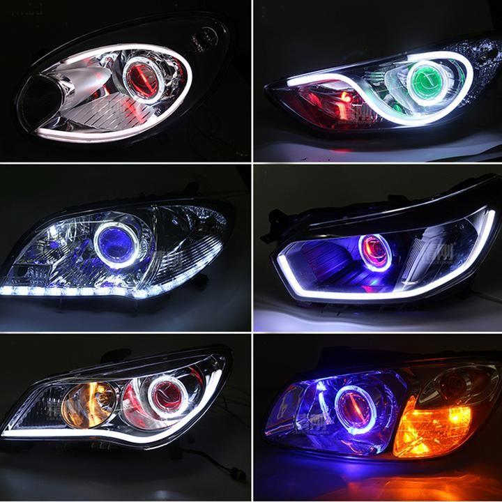 Car Demon Eye Led Light Car Interior Accessories Car Head