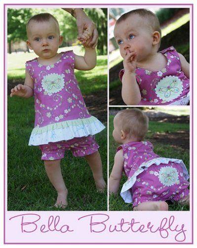 """""""Bella Butterfly"""" designed by Melanie Hurlston for Sew Little."""