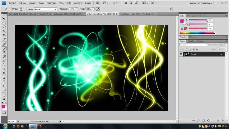 photoshop:crear efecto colores electro
