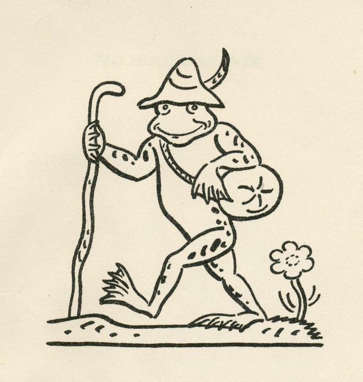Illustration by Josef Lada for the book Pohadky (by K.J. Erben)