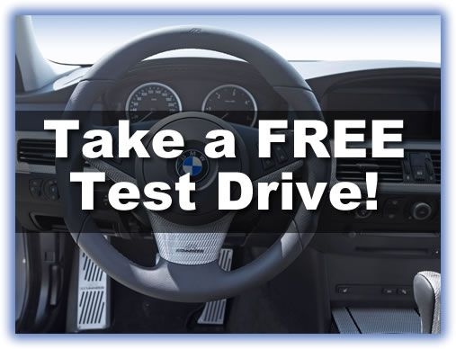 Test Drive vehicles and then start saving!