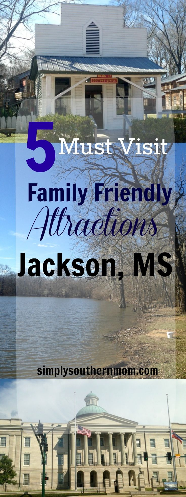 Planning a visit to Jackson, Mississippi? You'll be surprised by how many activities they have! Here are 5 must visit family friendly attractions. (USA)
