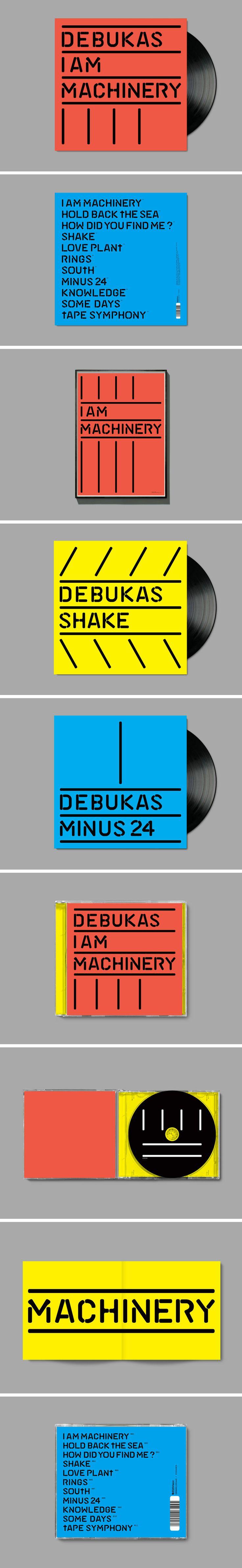 Format – LP/Poster/Singles/CD  Client – 2020 Vision