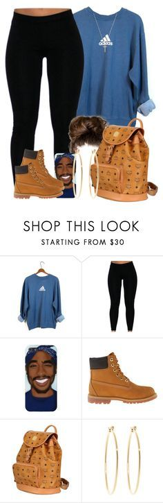 """They say people from NYC love timbs.. I agree with them lmaoo "" by livelifefreelyy ❤ liked on Polyvore featuring adidas, Timberland, MCM, Brooks Brothers and Gucci"