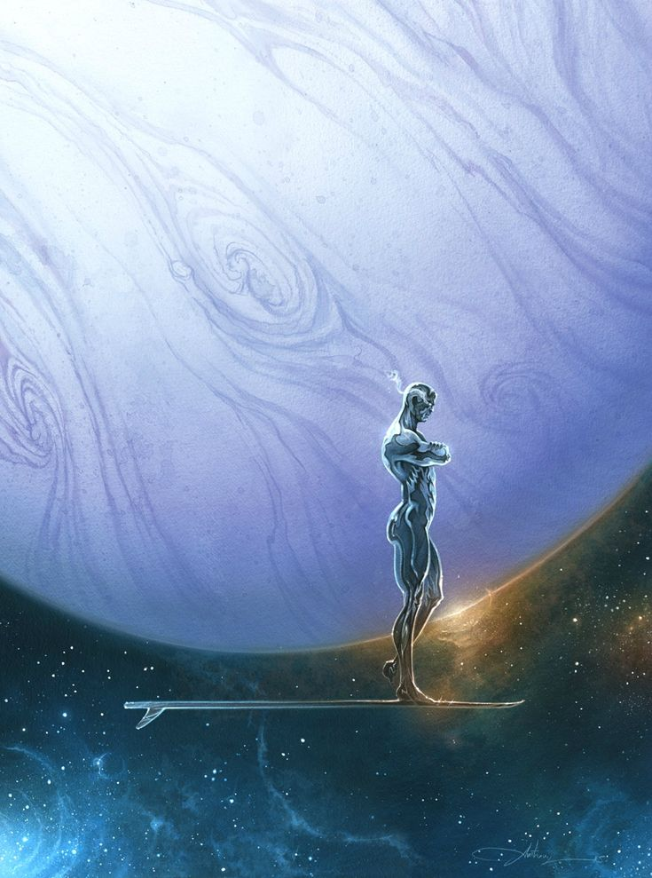 Silver Surfer art by Anthony Jean (2015)