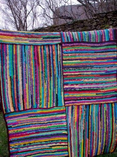 17 best images about plastic bag rugs on pinterest recycling bags and crochet rugs. Black Bedroom Furniture Sets. Home Design Ideas