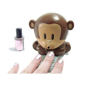 Funny Blow Monkey Nail Drier for only $14.90 ,cheap Gifts For Her - Unusual Gifts online shopping,Funny Blow Monkey Nail Drier is the perfect gift for her!