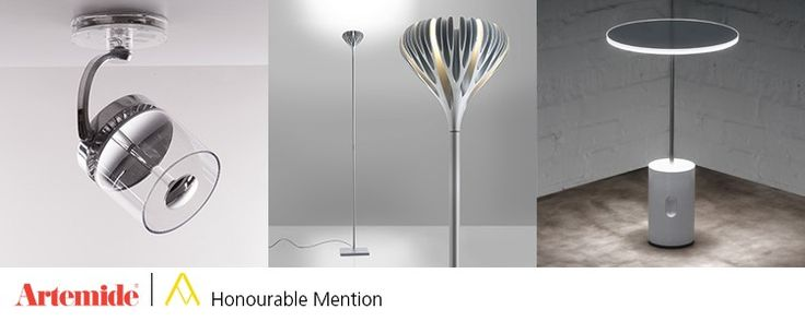 [AWARD] Honourable Mention for 3 Artemide lamps at the 24th Compasso d'Oro ADI : the #Sisifo table lamp #design Scott Wilson // #Cata designed by Carlotta de Bevilacqua // the #Florensis floor lamp by Ross Lovegrove​. All the details are on our #ArtemideBlog ► http://bit.ly/1YwIvWs.