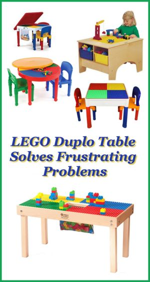 LEGO Duplo Table Solves Frustrating Problems – DealeryDo