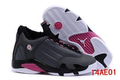 Nike Air Jordan 14 Women (Down) Shoes Violet Women/Mens shoe Shop Online Salenikestore Num.F0011