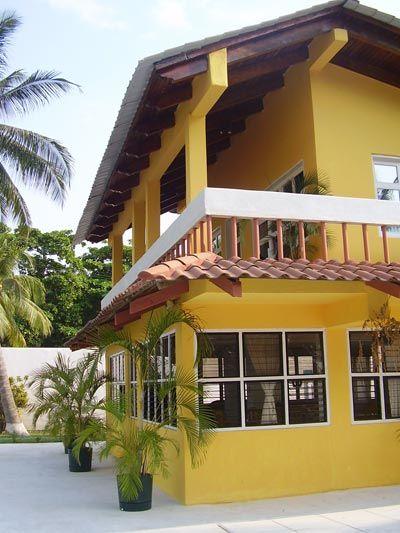 Tonos de amarillo fachadas casas pinterest amarillo - Pintura color oro ...