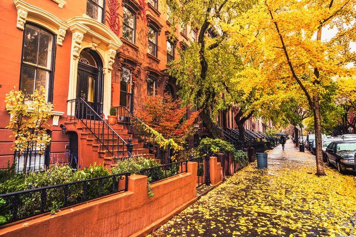осень в городе (с изображениями)   Осенний пейзаж, Природа ...