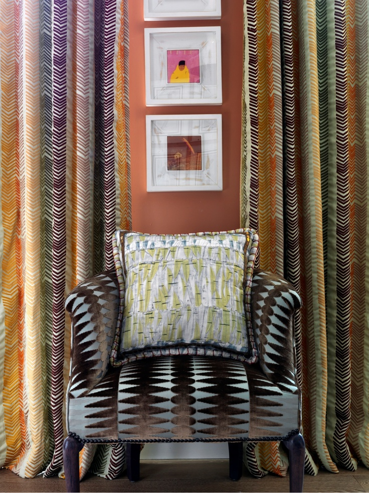 Christopher Farr Fabrics - available through ST LEGER AND VINEY