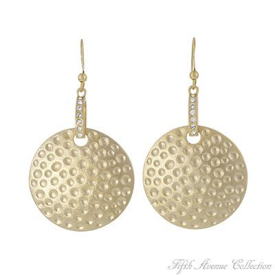 Gold Earring - Kiss Of The Nile - Australia - Fifth Avenue Collection - Jewellery that changes the way you see fashion
