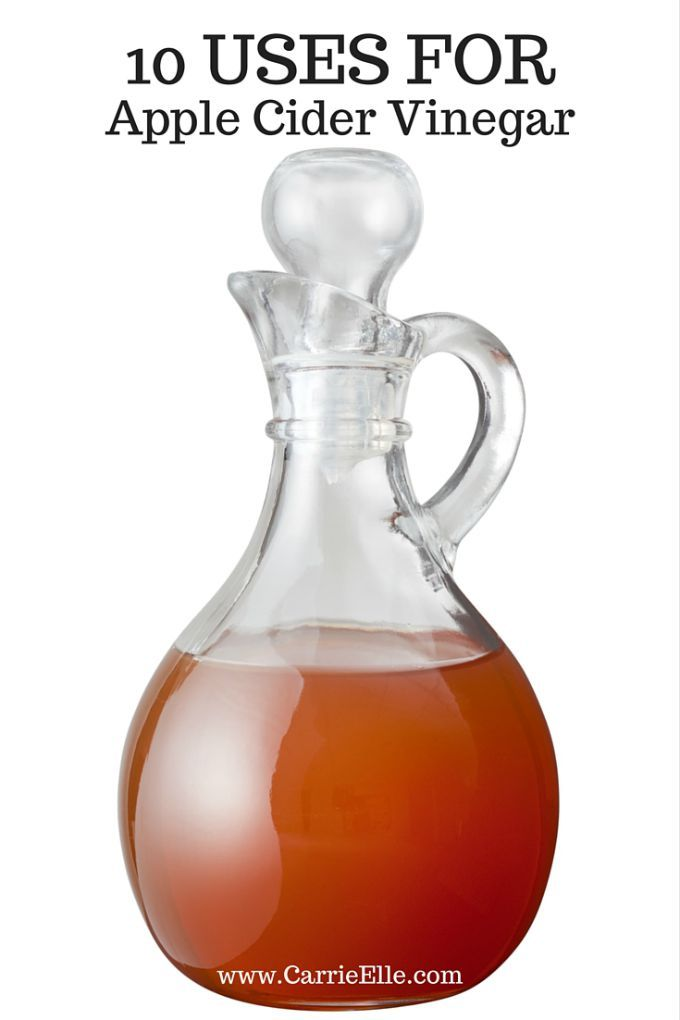 Did you know Apple Cider Vinegar is a natural pesticide? More on that (and 9 other ways you can use Apple Cider Vinegar) here.