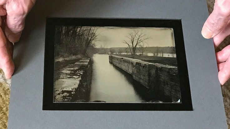 Art exhibit opening July 8th Schoharie Crossing in Ft Hunter NY. See Glens Falls Art tintype studio Yankee Hill Lock art by Craig Murphy.