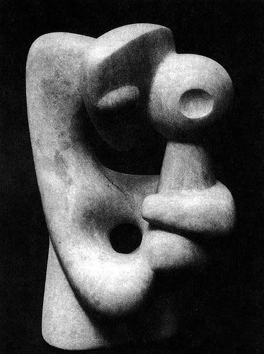 ¤ Isamu Noguchi. Mother and Child. 1944-47. Carved stone. Archival image.