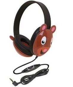 teddy bear caliphone best toddler and kid headphones
