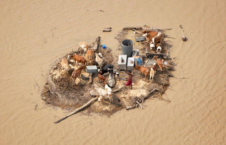 Floods in Pakistan.