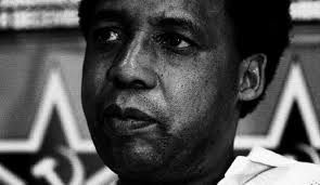 Chris Hani 1942 - 1993 Leader of the South African Communist Party and chief of staff of Umkhonto we Sizwe, the armed wing of the African National Congress (ANC).