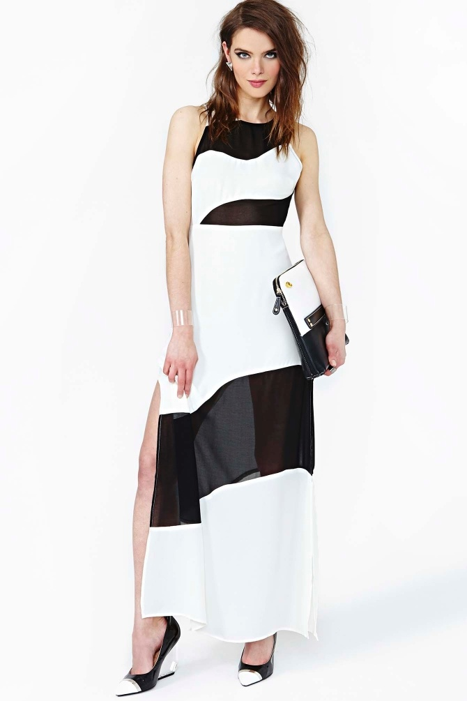 Little Secrets Maxi Dress In Colorblock Fashionista Pt 2 Pinterest Maxi Dresses Clothes