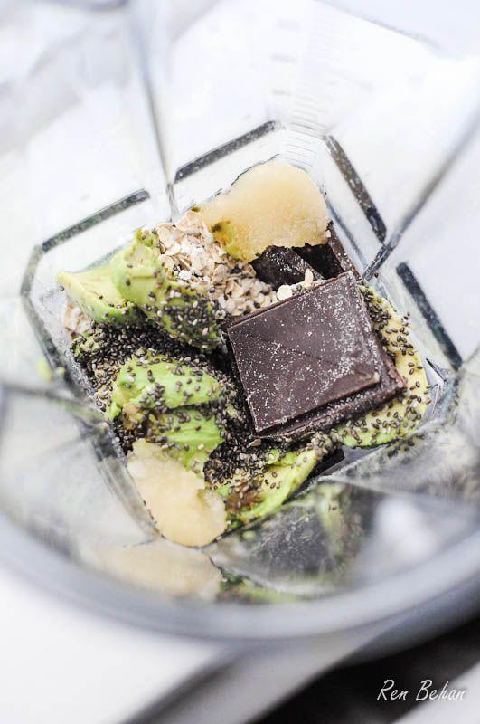 Vitamix Chocolate Avocado Ice Cream Recipe