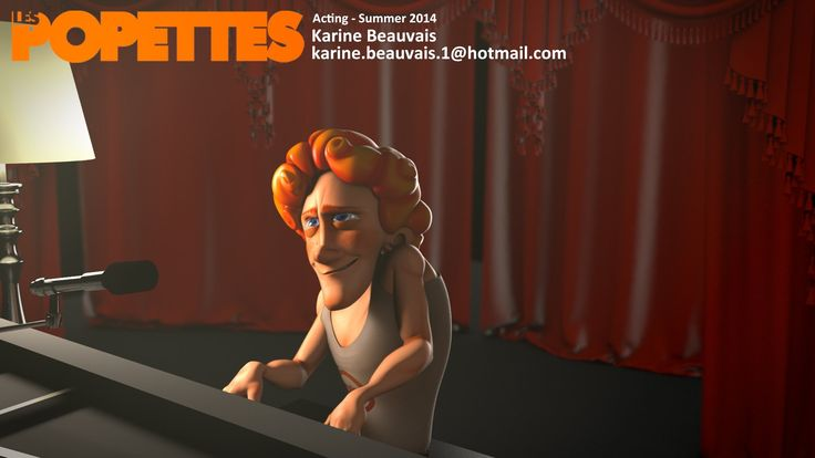LES POPETTES - SUMMER 2014 - Karine Beauvais - Acting | Squeeze Studio Animation