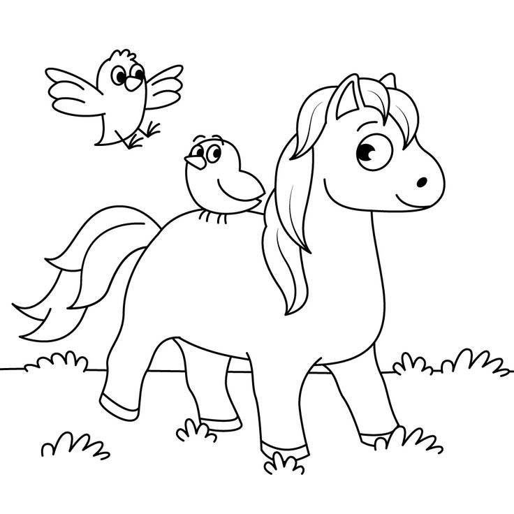 35 Best Horse Coloring Pages Images On Pinterest