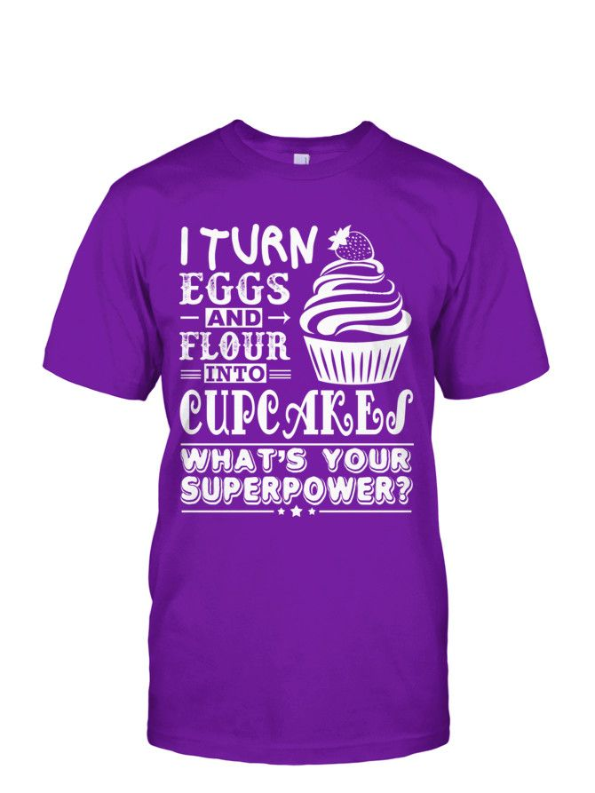 Baking Cupcakes Superpower (Limited Edition) | TeeChip