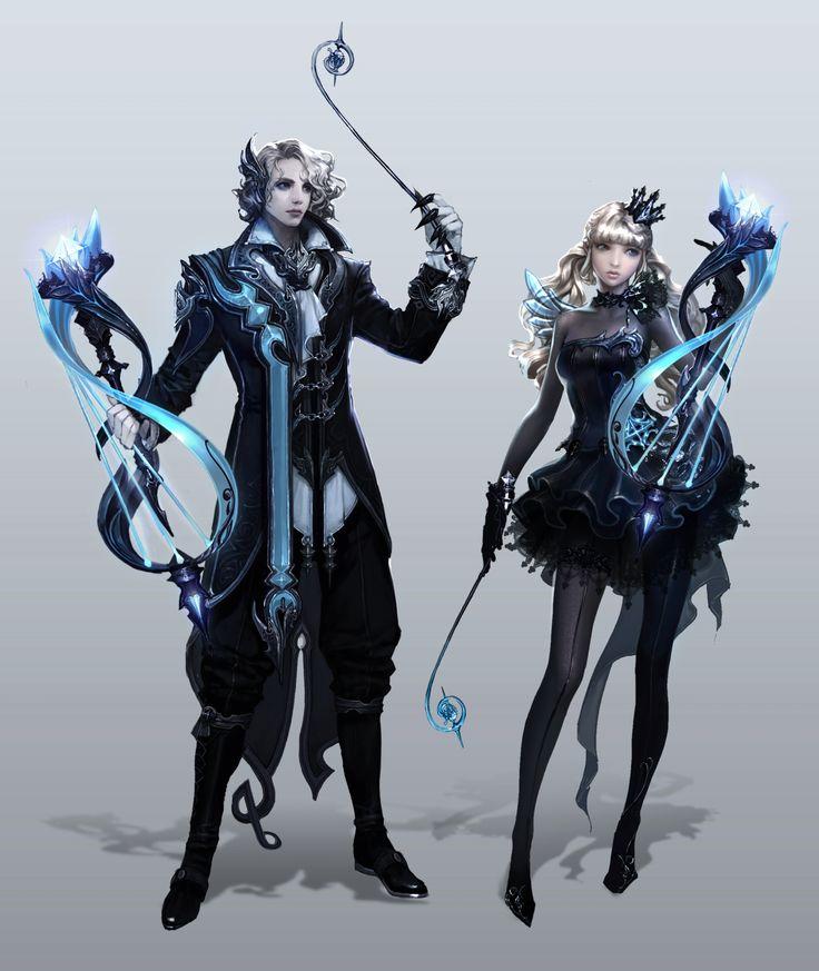 couple peuple Ongaku de l'ombre diamant