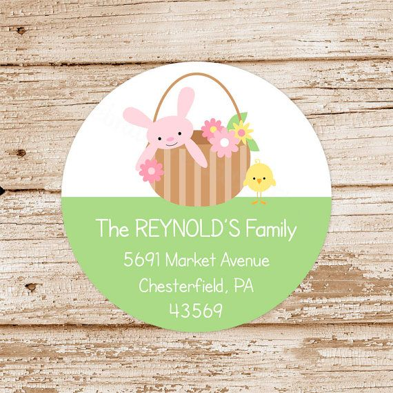 1000 images about easter cards gift tags on pinterest easter easter address labels spring easter basket by celebratelilthings cards giftgift tagsbasket negle Gallery