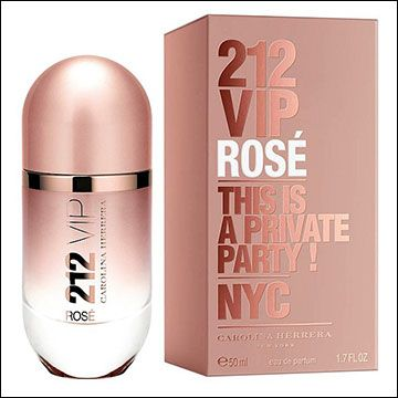 212 Vip Rose by Carolina Herrera - Floral