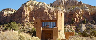 Monastery of Christ in the Desert, Abiquiu, NM {time for another retreat}: Church