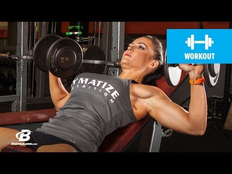 Bodybuilding.com: Essential Chest & Shoulder Workout | Erin Stern's Elite Body 4-Week Fitness Plan