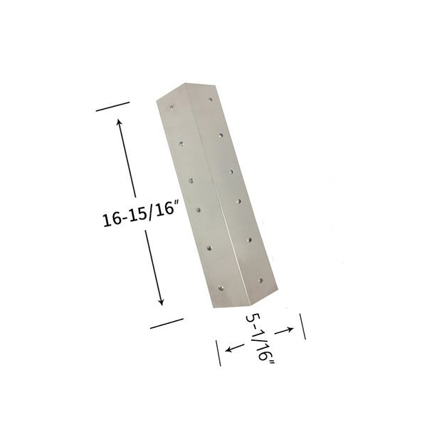 STAINLESS STEEL HEAT SHIELD FOR GRILL ZONE 810-6345-T , 810-6410-T, AUSSIE 8462-8-MR1 GAS MODELS Fits Compatible Grill Zone Models : 810-6345-T, 810-6410-T, 810-6440-T, 810-6650-T, 810-6670-T Read More @http://www.grillpartszone.com/shopexd.asp?id=38025&sid=17429