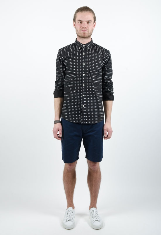 Crosby Polka Dot BD Shirt    Saturdays Surf NYC
