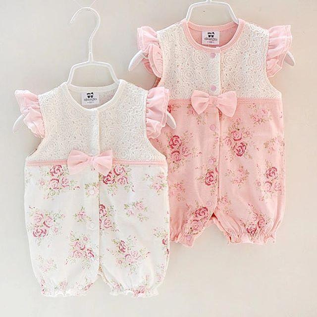 7 Me Gusta 1 Comentarios ملابس اطفال Store Hams100 En Instagram التشكيلات الصيفيه متوفر ال Girls Rompers Baby Girl Outfits Newborn Baby Girl Clothes